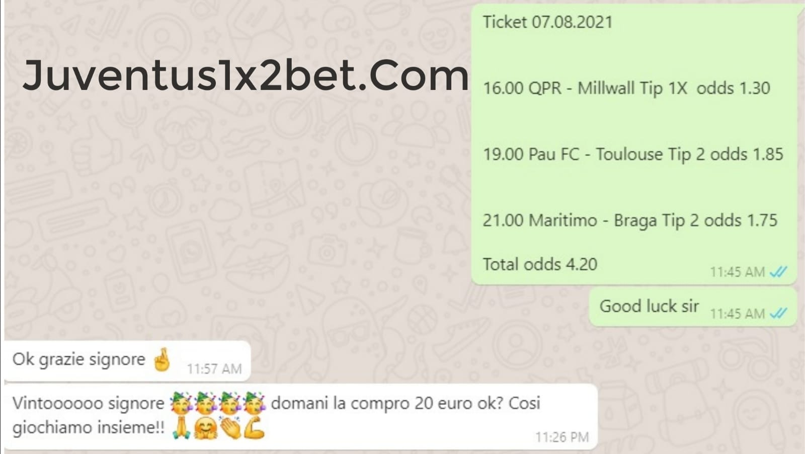 Ticket, sure, betting, every, day, fixed, matches, join, us, today,
